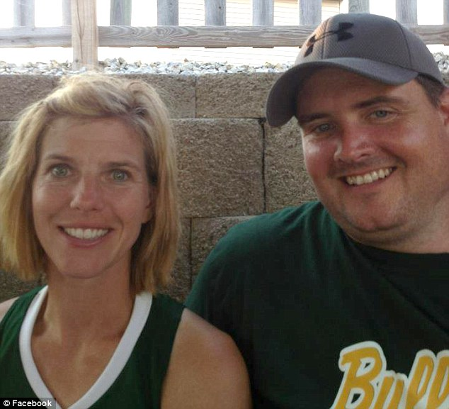Alberts, who is listed as a special education teacher on her Facebook page, and her family has suffered several tragedies over the years including the loss of her husband Jason (pictured)